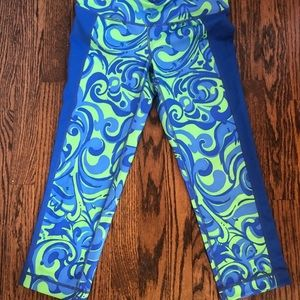 Lilly Pulitzer Luxletic Cropped Pants
